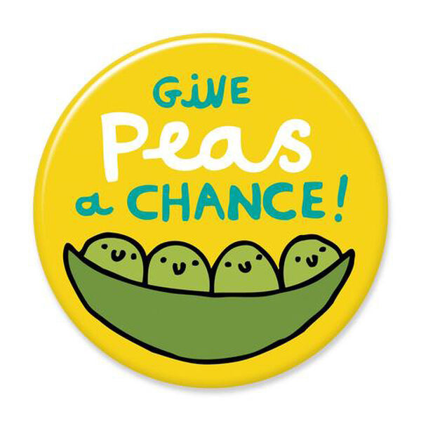 Give Peas A Chance Big Magnet