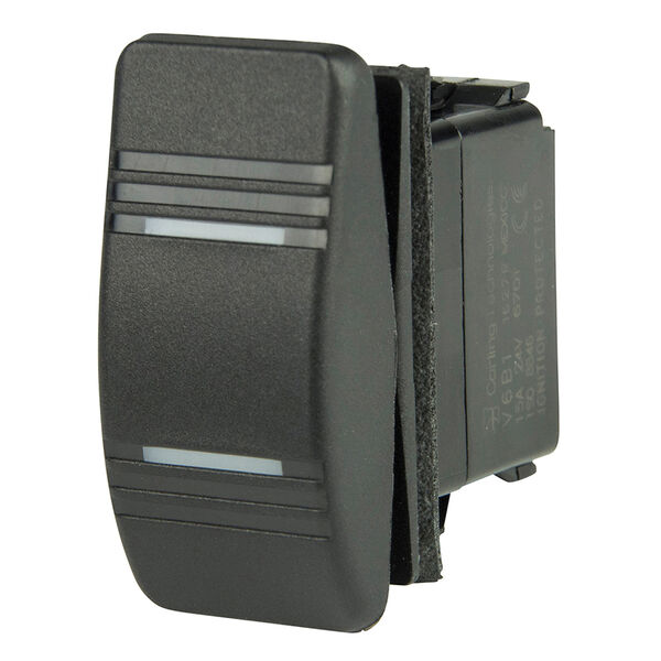 BEP SPDT Contura Switch, On/Off/On, 2 LED
