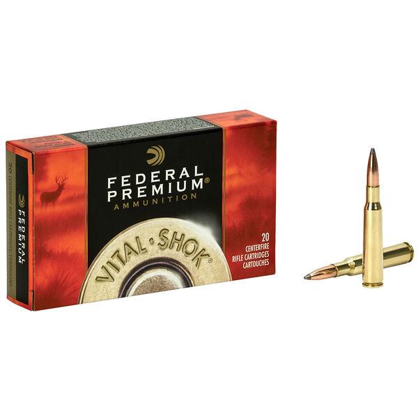 Federal Premium Vital-Shok Nosler Partition Rifle Ammo, 7mm Rem Mag, 140-gr.