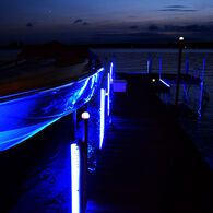 Jellux LED Dock Bumper Kit w/Two 5' Bumpers