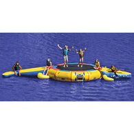 Island Hopper 13' Bounce 'N Splash Water Bouncer & Gator Monster Water Park