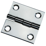 """Whitecap Stamped Stainless Steel Butt Hinge, 2"""" x 2"""""""