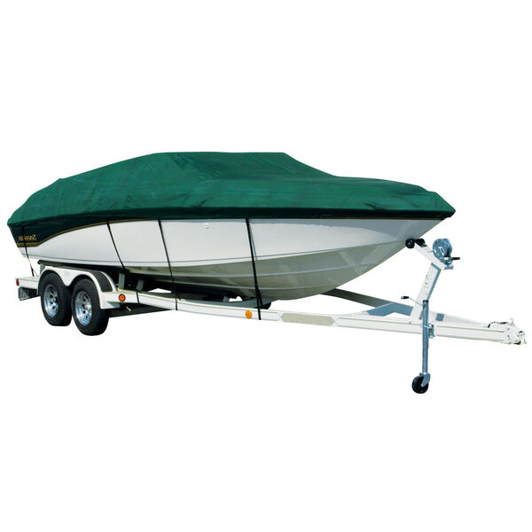 Sharkskin Plus Exact-Fit Cover - Bayliner 195 Classic BR I/O no trolling motor