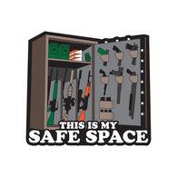 Patriot Patch Safe Space Sticker