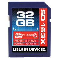 Delkin Devices Trail Cam SD Memory Card, 32GB, 1-Pack