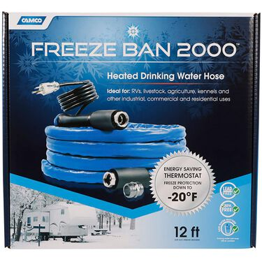 Camco Freeze Ban Heated Drinking Water Hose, 25'