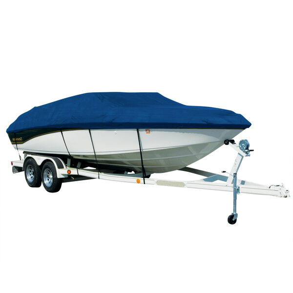 Exact Fit Covermate Sharkskin Boat Cover For TRACKER TOURNAMENT V-18 SC