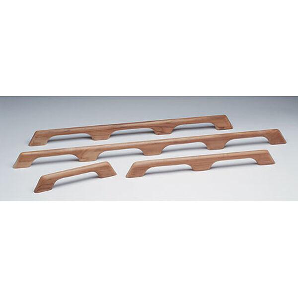 """Whitecap Teak Six-Loop Handrail, 63""""L x 2-3/8""""H x 1""""D"""