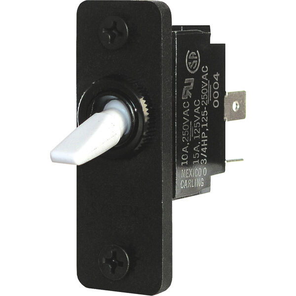 Blue Sea Systems Toggle Switch, SPDT (ON)-OFF-(ON)