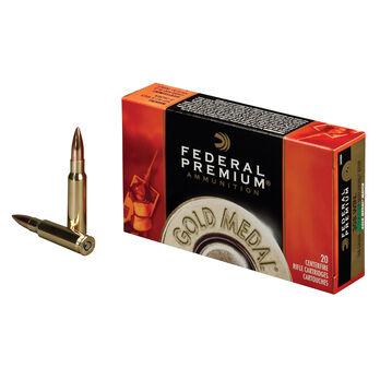 Federal Premium Gold Medal Ammo, .308 Win, 168-gr., SMK-BTHP