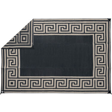Reversible Greek Motif Design Patio Mat