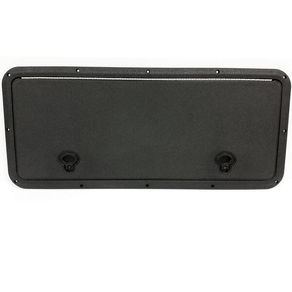 "DPI Marine DPF Black Flush Series Hatch Door, 13"" x 36"" O.D. frame"