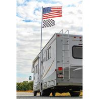 Portable 20' Telescoping Flagpole