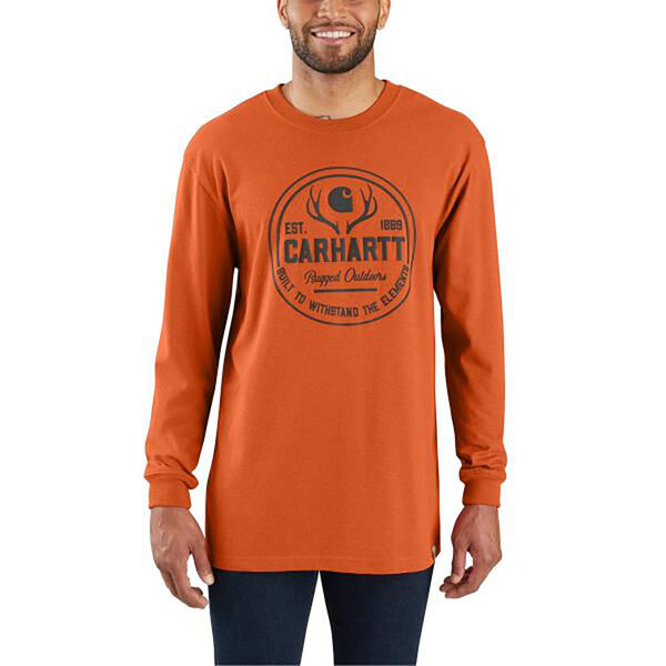 Carhartt Workwear Rugged Outdoors Graphic Shirt