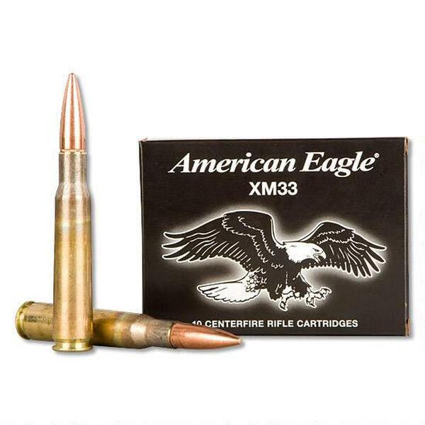 American Eagle XM33 FMJ Rifle Ammunition, .50 BMG, 660-gr.