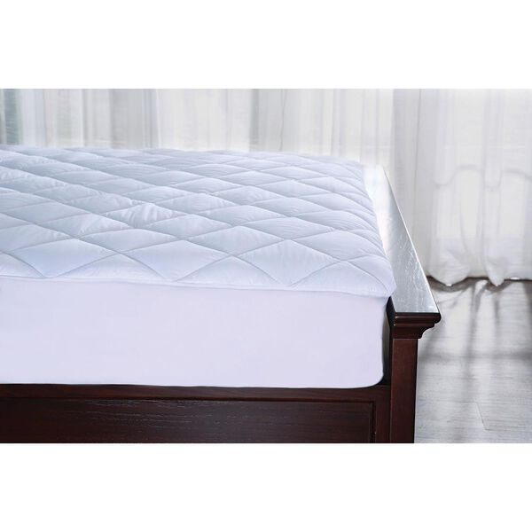 Hotel Collection Water Resistant Cotton Mattress Pad