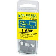 Blue Sea Systems ATO/ATC 1A Fuse (25 Pack)