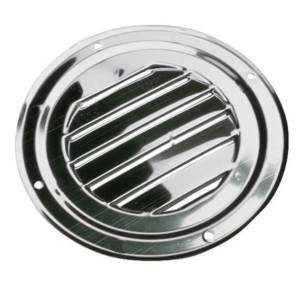 """Sea-Dog Stainless Steel Round Louvered Vent, 5"""" dia."""
