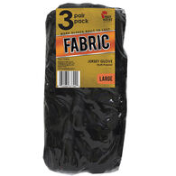 Midwest Gloves Knit Jersey Glove, 3-Pack