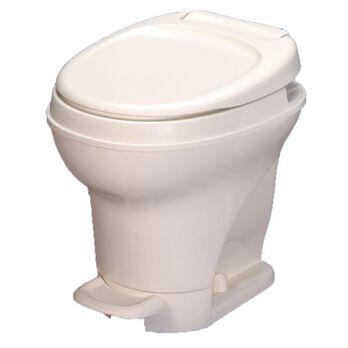 Aqua-Magic V Toilet High Profile Foot Flush, Parchment