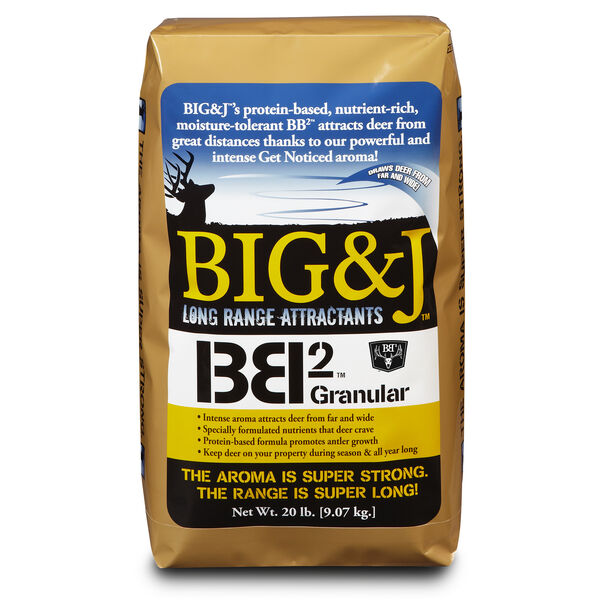 Big & J BB2 Nutritional Deer Supplement and Attractant, 20 lbs.