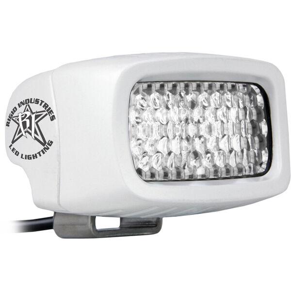 Rigid Industries MSR-M2 Single Row Mini White LED Light, Diffused