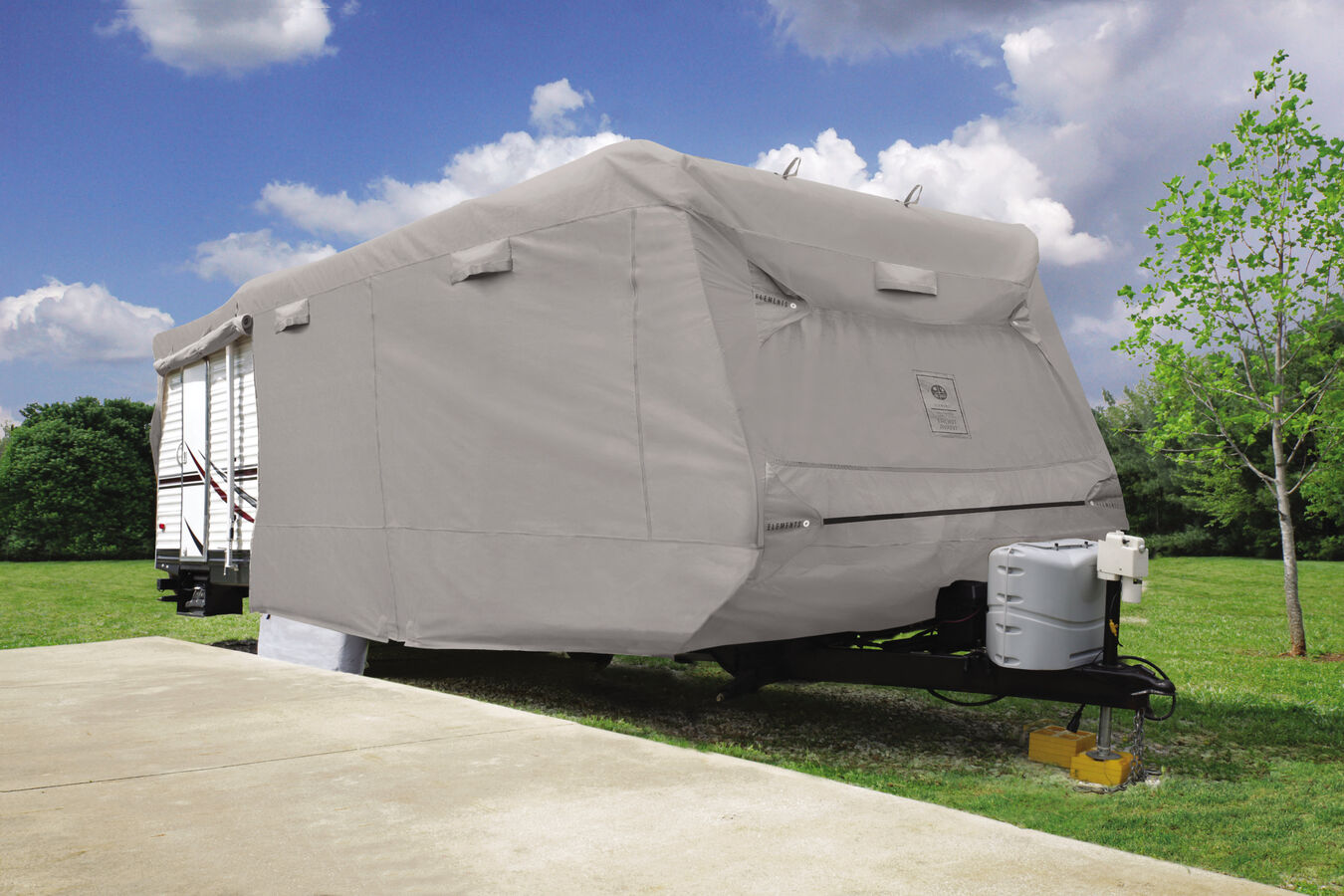 Details about  /5th Wheel All Climate Protection Elements Premium RV Cover 28 1/' 31/'