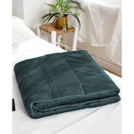Lazy Mondays Sedona Green Weighted Blanket 15lbs