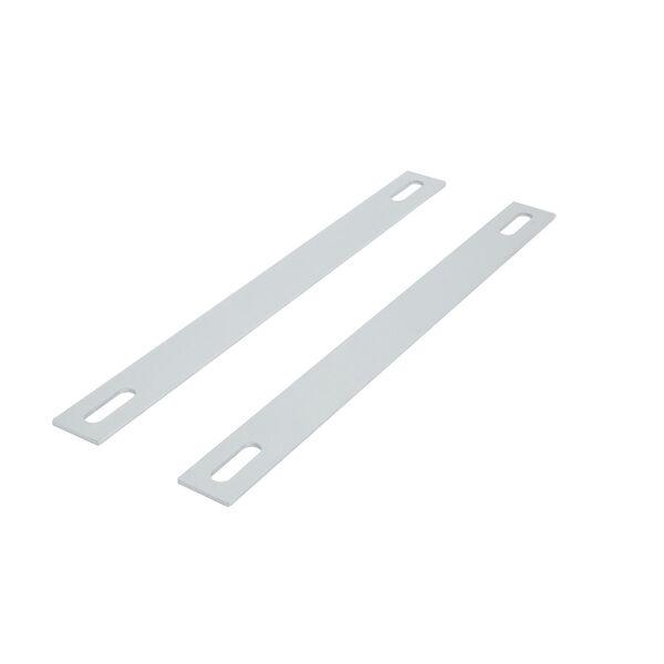 Dock Ladder Aluminum Backing Plates, Pair