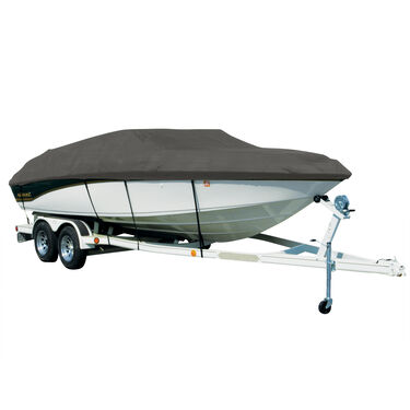 Sharkskin Cover For Four Winns Horizon 220 W/Top Laid Down On Small Struts
