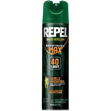Repel Insect-Repellent 6.5-Oz. Sportsmen Max Formula Aerosol Spray-Can
