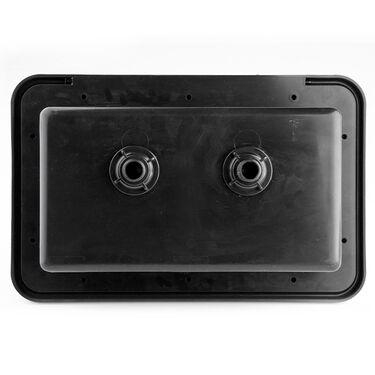 Dura Faucet RV Exterior Shower Box Kit, Black