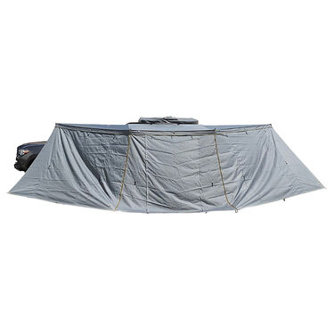 Nomadic Awning 270 Passenger Side Installation with Brackets and Side Walls