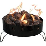 Camp Chef Compact Propane Fire Ring w/ Toaster Forks