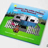 """Beatrice The Little Camper Gets Rescued"" Children's Book"