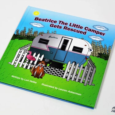 """""""Beatrice The Little Camper Gets Rescued"""" Children's Book"""