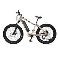 "QuietKat Ambush 750-Watt electric Mountain Bike 17"", Camo"