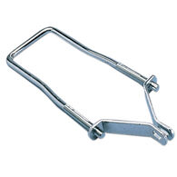 Spare Trailer Tire Carrier With Locking Brackets