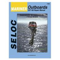 Seloc Marine Outboard Repair Manual for Mariner '77 - '89, 2-60 hp