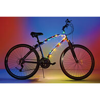 Cosmic Brightz LED Bike Lights, Multicolor