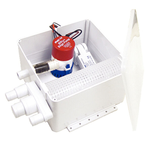 Rule 800 Multi-Port Shower Drain Kit