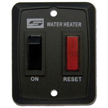 Suburban Standard On/Off Water Heater Switch, Black