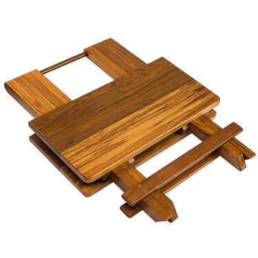 Whitecap Teak Teak Solid Top Fold-Away Table