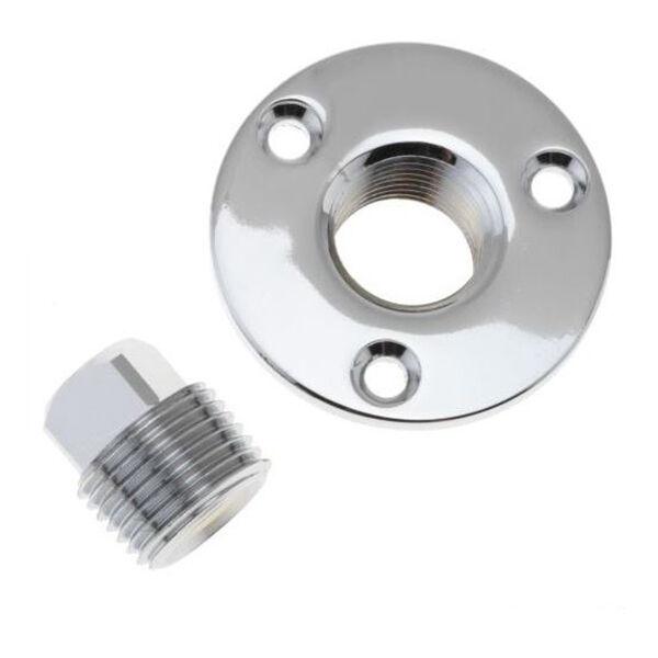 "Replacement Stainless Steel Garboard Drain Plug, 1/2"" IPT"