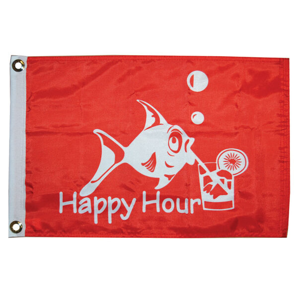 Happy Hour Boat Flag