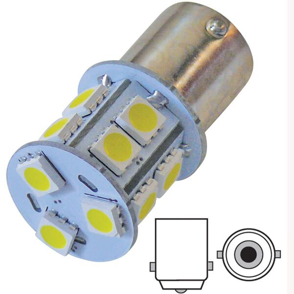 6 pack of LED bulbs for all 1003 applications