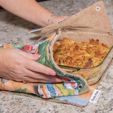 Camper Haute Pads Multi-Purpose Kitchen/Grill Towel and Pot Holder, Set of 4