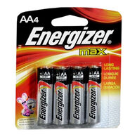 Energizer MAX AA Batteries, 4-Pack
