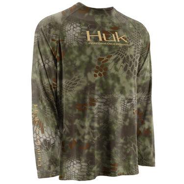Huk Men's Kryptek Performance Raglan Long-Sleeve Tee