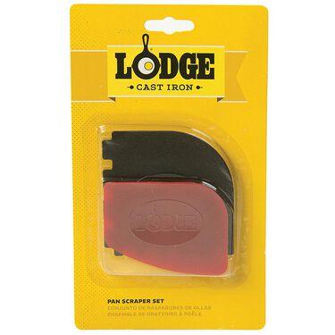 Lodge Cast Iron Pan Scraper, 2-Pack